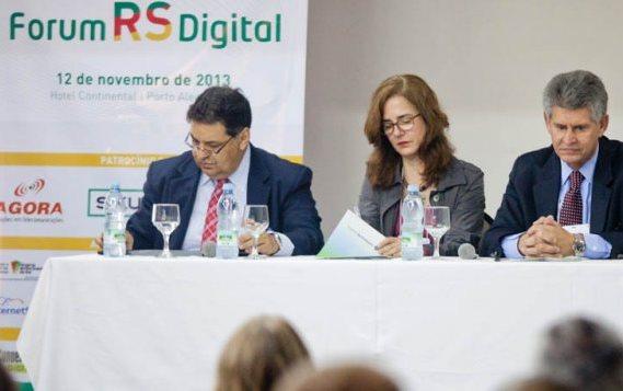 Fórum RS Digital foi realizado nesta terça-feira (12), em Porto Alegre. (Foto: Brasil 247)