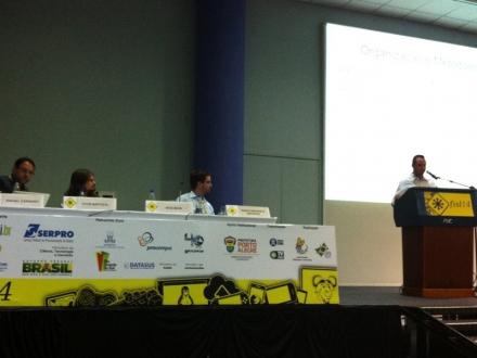 14º Fórum Internacional de Software Livre (FISL), em Porto Alegre. (Foto: MiniCom)