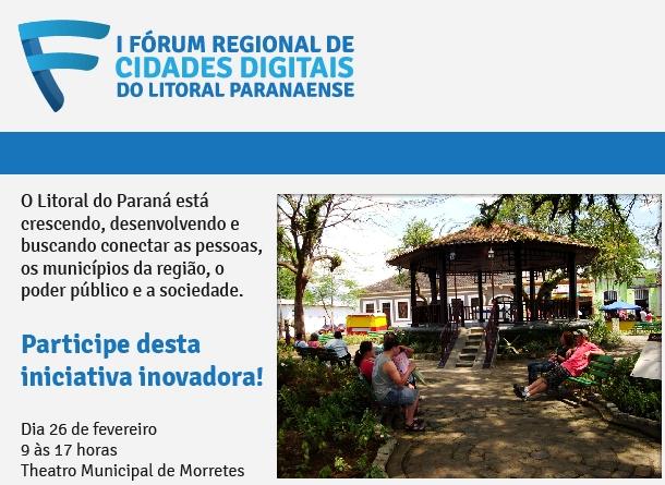 Evento é destinado aos prefeitos, gestores públicos e interessados na modernização da gestão pública por meio da Tecnologia da Informação e Comunicação