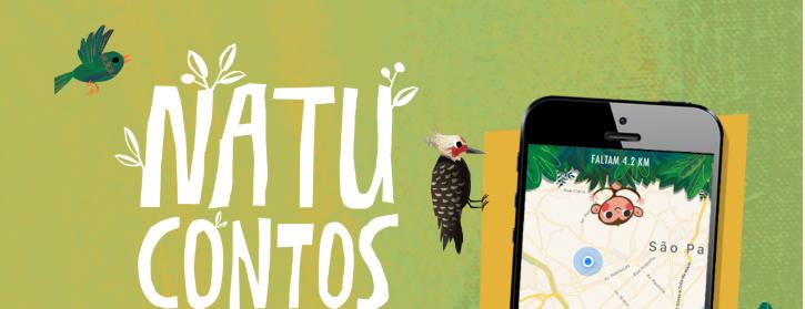 Aplicativo educacional Natu identifica árvores a partir de contos literários narrados por cantores