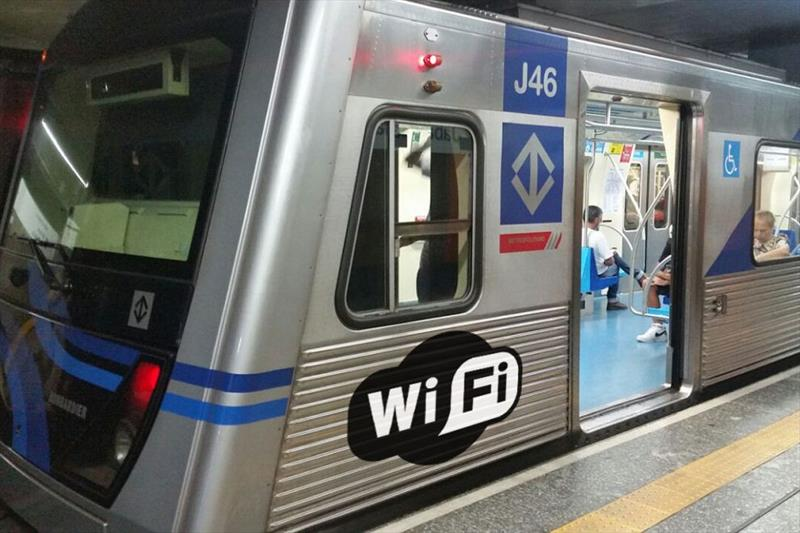 Serviço de wi-fi gratuito nas estações do Metrô de SP começará a funcionar até o final de janeiro