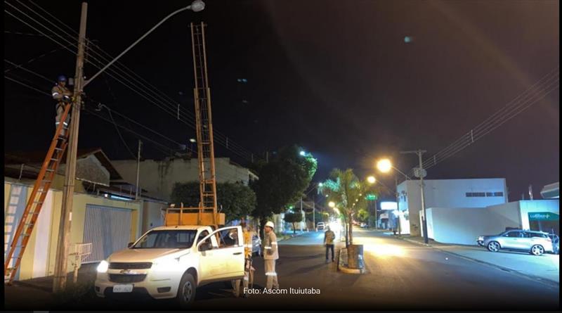 Iluminação pública de Ituiutaba/MG terá troca de tecnologia em sete trechos da cidade