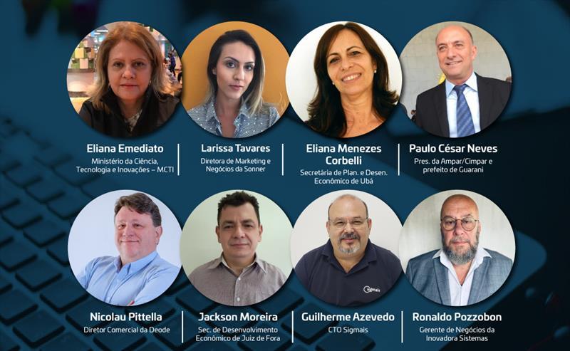 Evento Online traz as inovações de Guarani, Juiz de Fora e Ubá