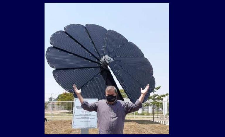 Prefeitura de Cáceres inaugura aparelho de energia solar