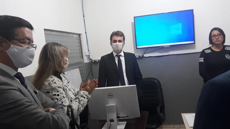 Delegacia de Polícia Civil de Manhuaçu recebe o Plantão Digital