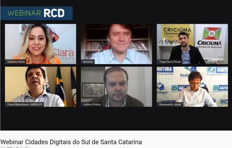 Pandemia acelera investimentos em tecnologia nos municípios do Sul de Santa Catarina