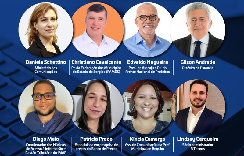 Presidente da Fames, prefeitos e gestores participam do Webinar das Cidades Digitais da Região de Aracaju nesta terça