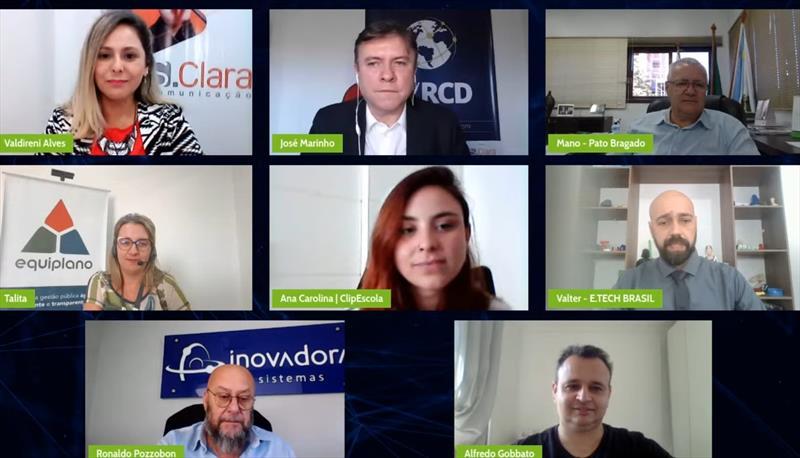 Webinar das Cidades Digitais do Oeste do Paraná reúne gestores de 50 Prefeituras