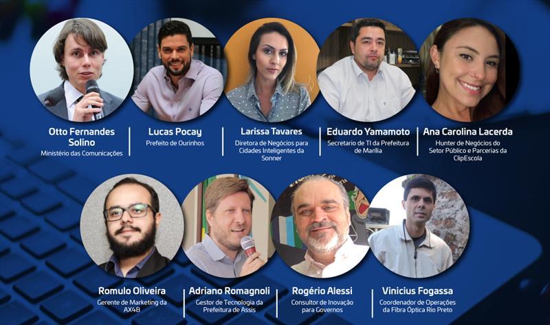 Webinar das Cidades Digitais do Centro-Oeste Paulista reúne prefeitos gestores públicos nesta terça