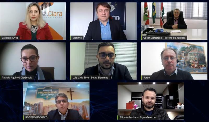 Prefeitos catarinenses destacam melhorias nos serviços públicos com tecnologia