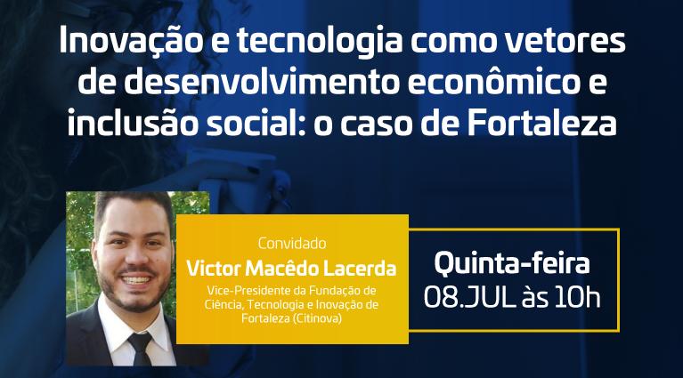 RCD Cidades traz o modelo de inovação de Fortaleza