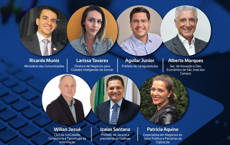 Evento Online reúne Ministério das Comunicações e Prefeituras do Vale do Paraíba e Litoral Norte nesta terça