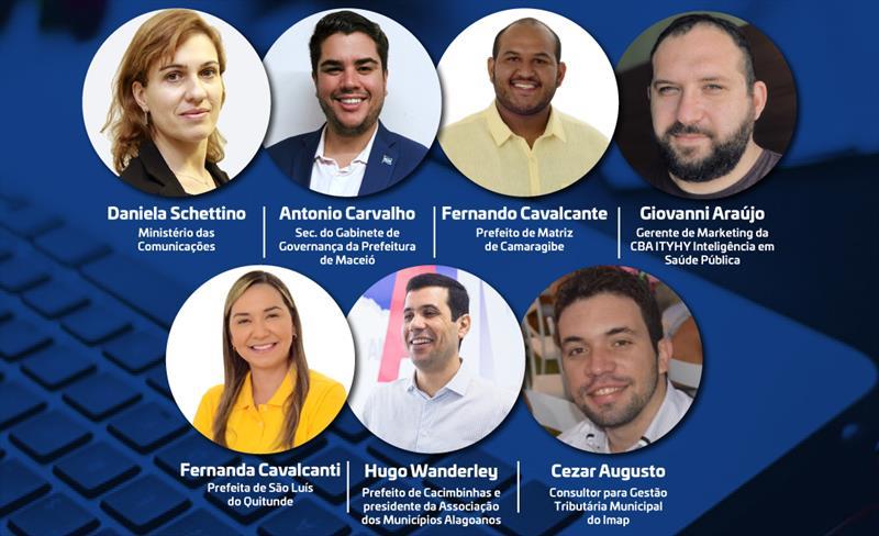 Prefeituras da Região de Maceió e Leste Alagoano compartilham experiências tecnológicas em Webinar de Cidades Digitais