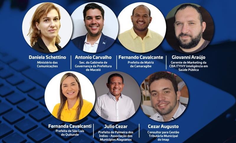 Evento online reúne Prefeituras da Região de Maceió e Leste Alagoano nesta terça