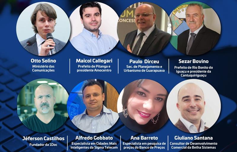 Evento Online reúne Ministério das Comunicações e Prefeituras da Região de Guarapuava nesta terça
